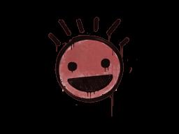 Запечатанный граффити | Счастье (Кровавый красный)