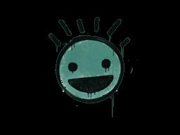 Запечатанный граффити | Счастье (Лягушачий зелёный)