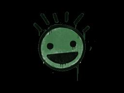 Запечатанный граффити | Счастье (Лесной зелёный)