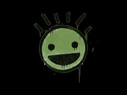 Запечатанный граффити | Счастье (Боевой зелёный)