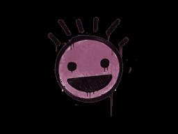 Запечатанный граффити | Счастье (Нежный розовый)