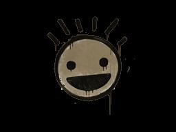 Запечатанный граффити | Счастье (Пыльный коричневый)