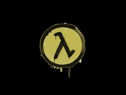 Sealed Graffiti   Lambda (Tracer Yellow)