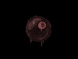 Sealed Graffiti | 8-Ball (Brick Red)