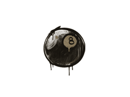 Sealed Graffiti | 8-Ball (Dust Brown)
