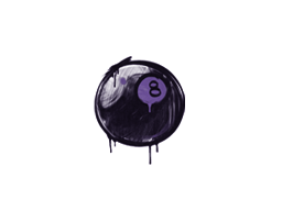 Sealed Graffiti | 8-Ball (Monster Purple)