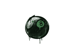 Sealed Graffiti | 8-Ball (Jungle Green)