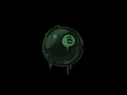 Sealed Graffiti | 8-Ball (Jungle Green)