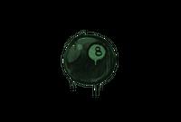 Sealed Graffiti   8-Ball (Jungle Green)