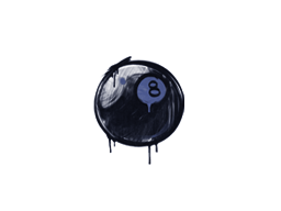 Sealed Graffiti | 8-Ball (SWAT Blue)