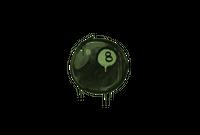 Sealed Graffiti   8-Ball (Battle Green)