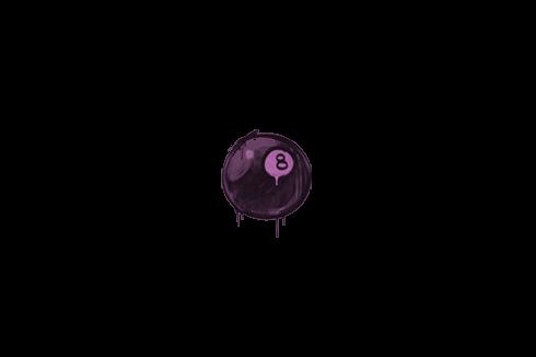 Sealed Graffiti   8-Ball (Bazooka Pink) Prices