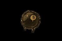 Sealed Graffiti   8-Ball (Desert Amber)