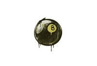Sealed Graffiti   8-Ball (Tracer Yellow)