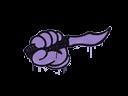 封装的涂鸦 | 背刺 (纯紫)