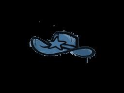 Запечатанный граффити | Шериф (Королевский синий)