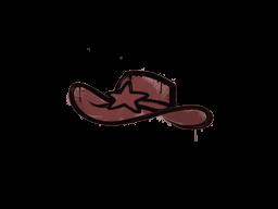 Запечатанный граффити | Шериф (Кирпичный красный)