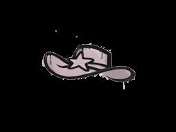 Запечатанный граффити | Шериф (Траншейный розовый)