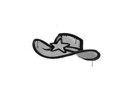 Запечатанный граффити | Шериф (Акулий белый)