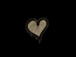 Запечатанный граффити | Сердце (Пыльный коричневый)