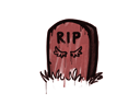 Sealed Graffiti   Tombstone (Blood Red)