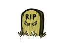 Sealed Graffiti   Tombstone (Tracer Yellow)