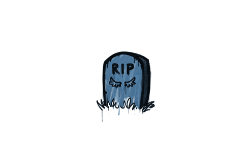 Sealed Graffiti   Tombstone (Monarch Blue) Prices