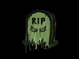 Запечатанный граффити | Надгробие (Боевой зелёный)