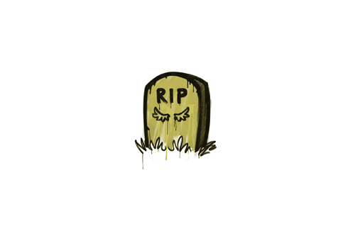 Sealed Graffiti | Tombstone (Tracer Yellow) Prices