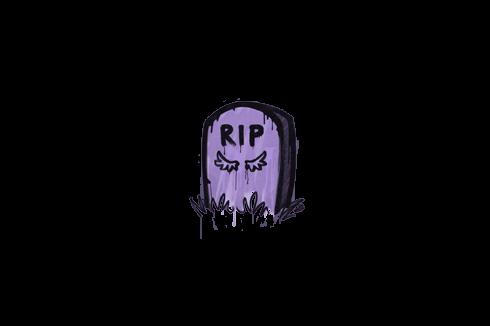 Sealed Graffiti | Tombstone (Violent Violet) Prices
