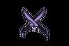 Sealed Graffiti | X-Knives (Violent Violet)