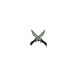 Sealed Graffiti   X-Knives (Cash Green)