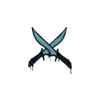 Sealed Graffiti   X-Knives (Wire Blue)
