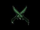 Sealed Graffiti | X-Knives (Jungle Green)