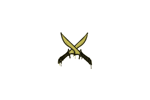 Sealed Graffiti   X-Knives (Tracer Yellow) Prices