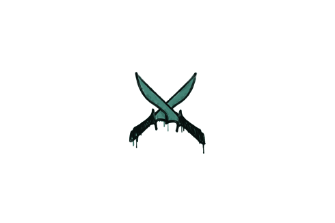 Sealed Graffiti | X-Knives (Frog Green) Prices