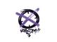 Sealed Graffiti   Noscope (Monster Purple)