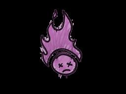 Запечатанный граффити | Поджаренный (Взрывной розовый)