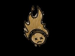 Запечатанный граффити | Поджаренный (Пустынный янтарный)