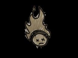 Запечатанный граффити | Поджаренный (Пыльный коричневый)