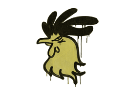 Sealed Graffiti   Cocky (Tracer Yellow)