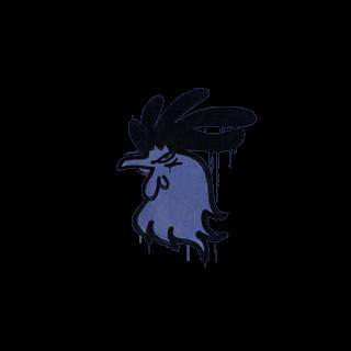 Sealed Graffiti | Cocky (SWAT Blue)