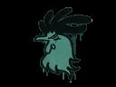 Запечатанный граффити | Задира (Лягушачий зеленый)
