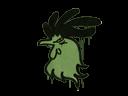 Sealed Graffiti   Cocky (Battle Green)