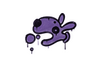 Sealed Graffiti   Popdog (Monster Purple)