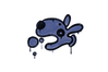 Sealed Graffiti | Popdog (SWAT Blue)