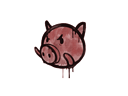 Graffiti | Piggles (Blood Red)