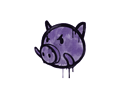 Sealed Graffiti | Piggles (Monster Purple)