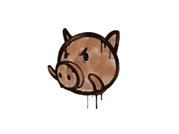 Sealed Graffiti | Piggles (Tiger Orange)