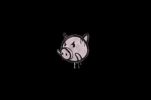 Sealed Graffiti | Piggles (War Pig Pink) Prices